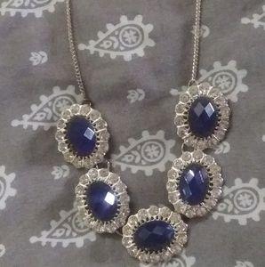 3 FOR $10 18 INCH WOMENS BLUE NECKLACE